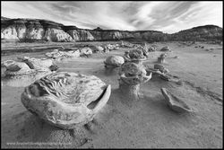 Alien Eggs, Bisti Badlands, New Mexico, rock formations