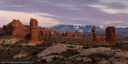 Arches National Park, Moab, Utah, Balanced Rock