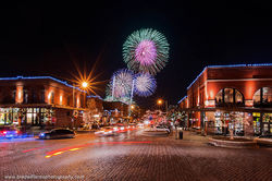 Old Market, Omaha, Nebraska, Fireworks
