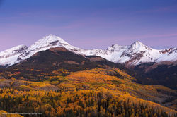 La Plata Mountains, San Juan National Forest, Colorado, Duango, Fall