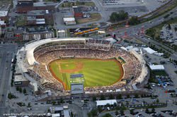 2016 TD Ameritrade Park Aerial - Two