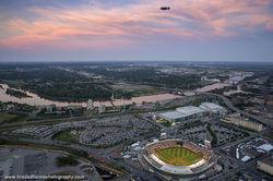 2016 TD Ameritrade Park Aerial - Four