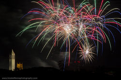 Memorial Park, Fireworks, Omaha, Nebraska