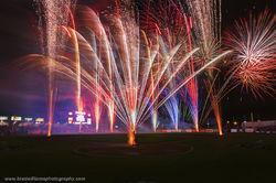 fireworks, werner park, papillion, omaha, nebraksa