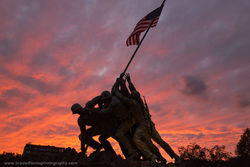 United States, Marine Corps, War Memorial​, Washington, DC,
