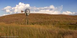 Nebraska, Sandhills, windmill