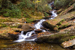 Roaring Fork Falls, Pisgah National Forest, North Carolina, waterfall