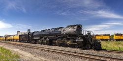 BigBoy 4014 on the BNSF