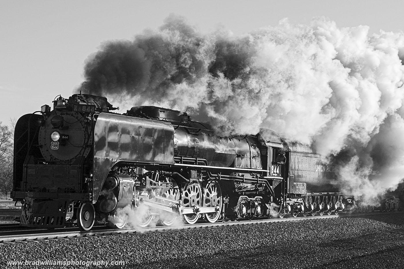 Union Pacific, 844, steam, locomotive