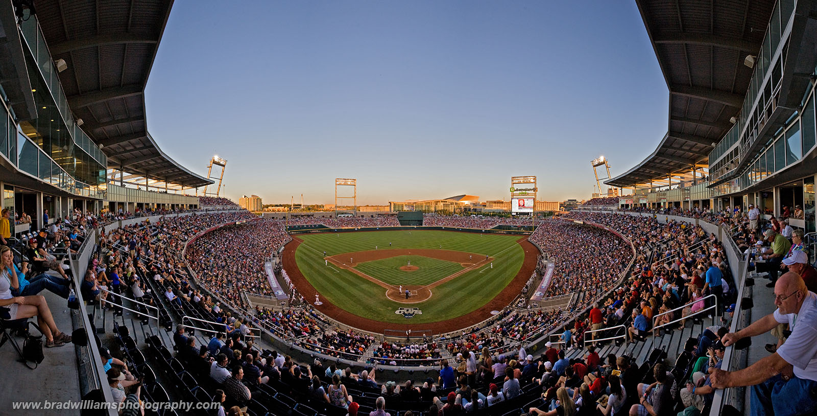 TD Ameritrade Park, Omaha, Nebraska, baseball, photo