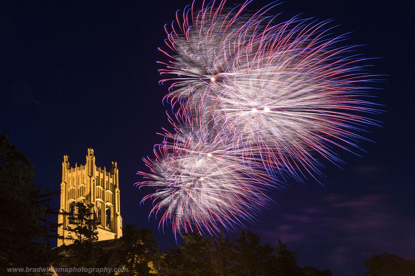The 2013 Memorial Park Fireworks in Omaha, Nebraska