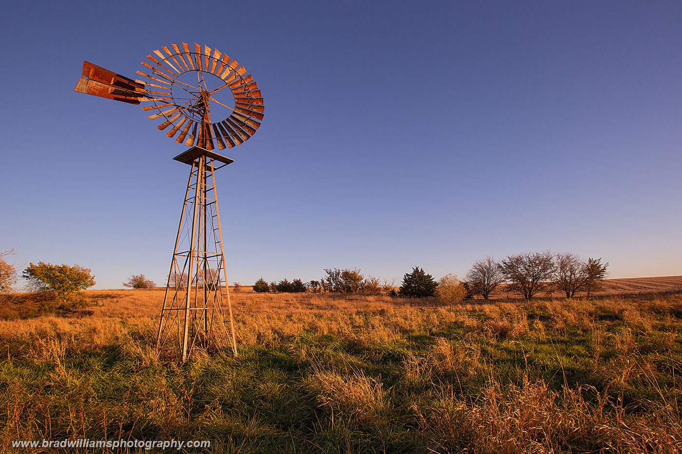 This Kregel windmill stood on my brothers farm nearNebraska city. After he moved away, the windmill was removed.&...