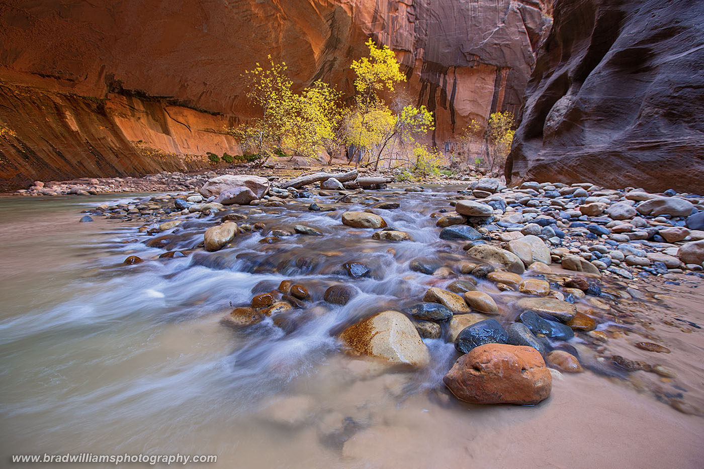 Zion, National Park, Narrows, Utah