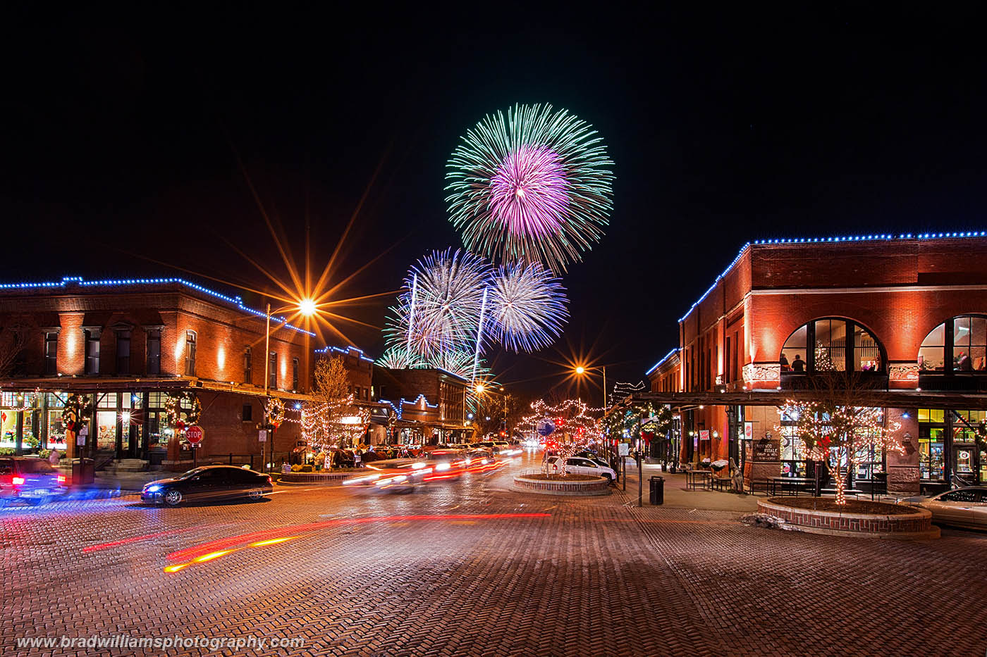 Old Market, Omaha, Nebraska, Fireworks, photo