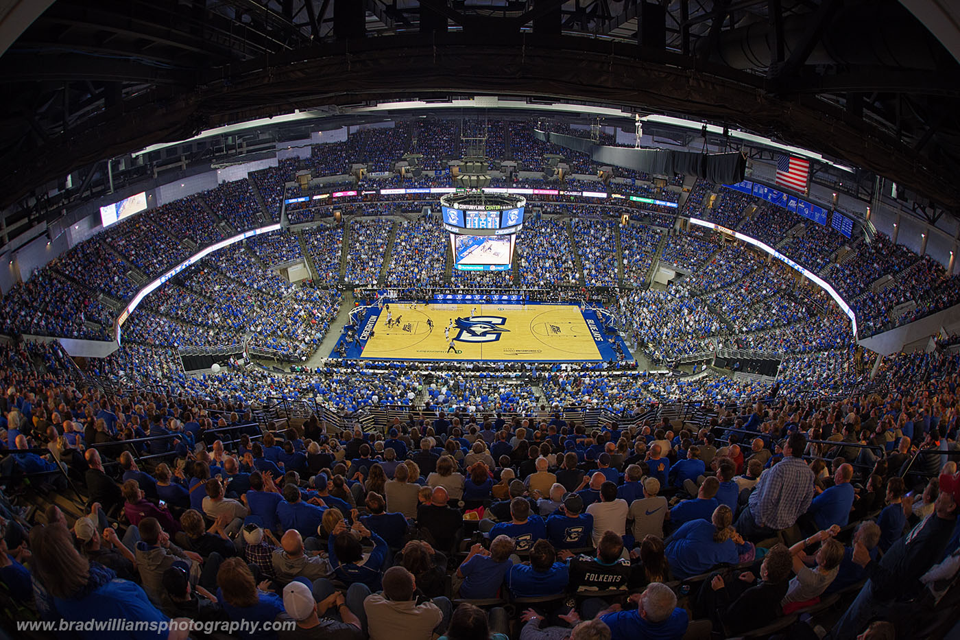 Creighton, University, Basketball, CenturyLink Center, Omaha, Nebraska, photo