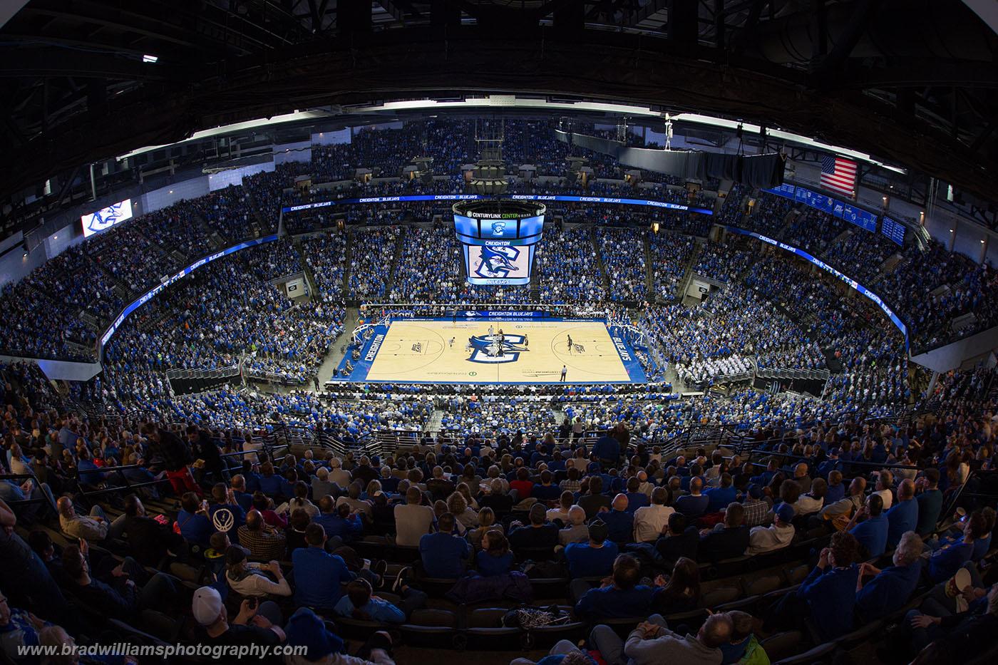 Creighton, University, Basketball, CenturyLink Center, Omaha, Nebraska, photo