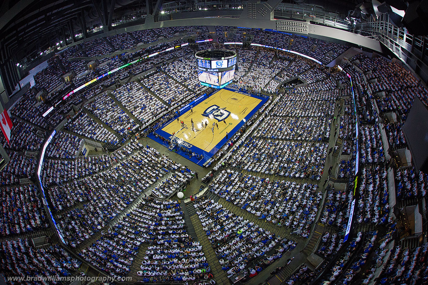 Creighton, University, Basketball, CenturyLink Center, Omaha, Nebraska, White Out, Senior Day, , photo