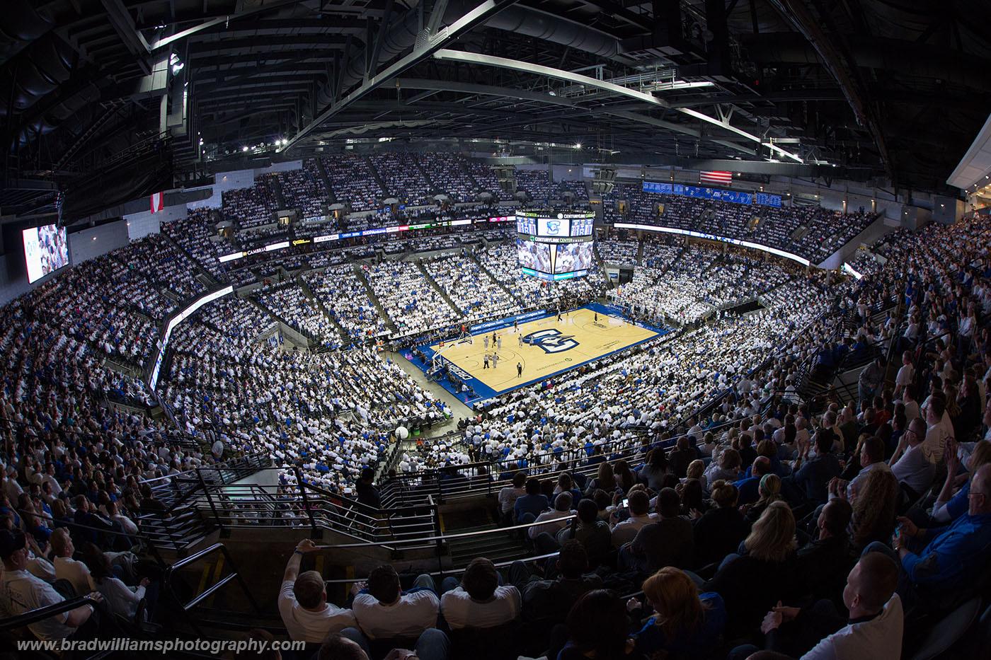 Creighton, University, Basketball, CenturyLink Center, Omaha, Nebraska, White Out, Senior Day, , photo