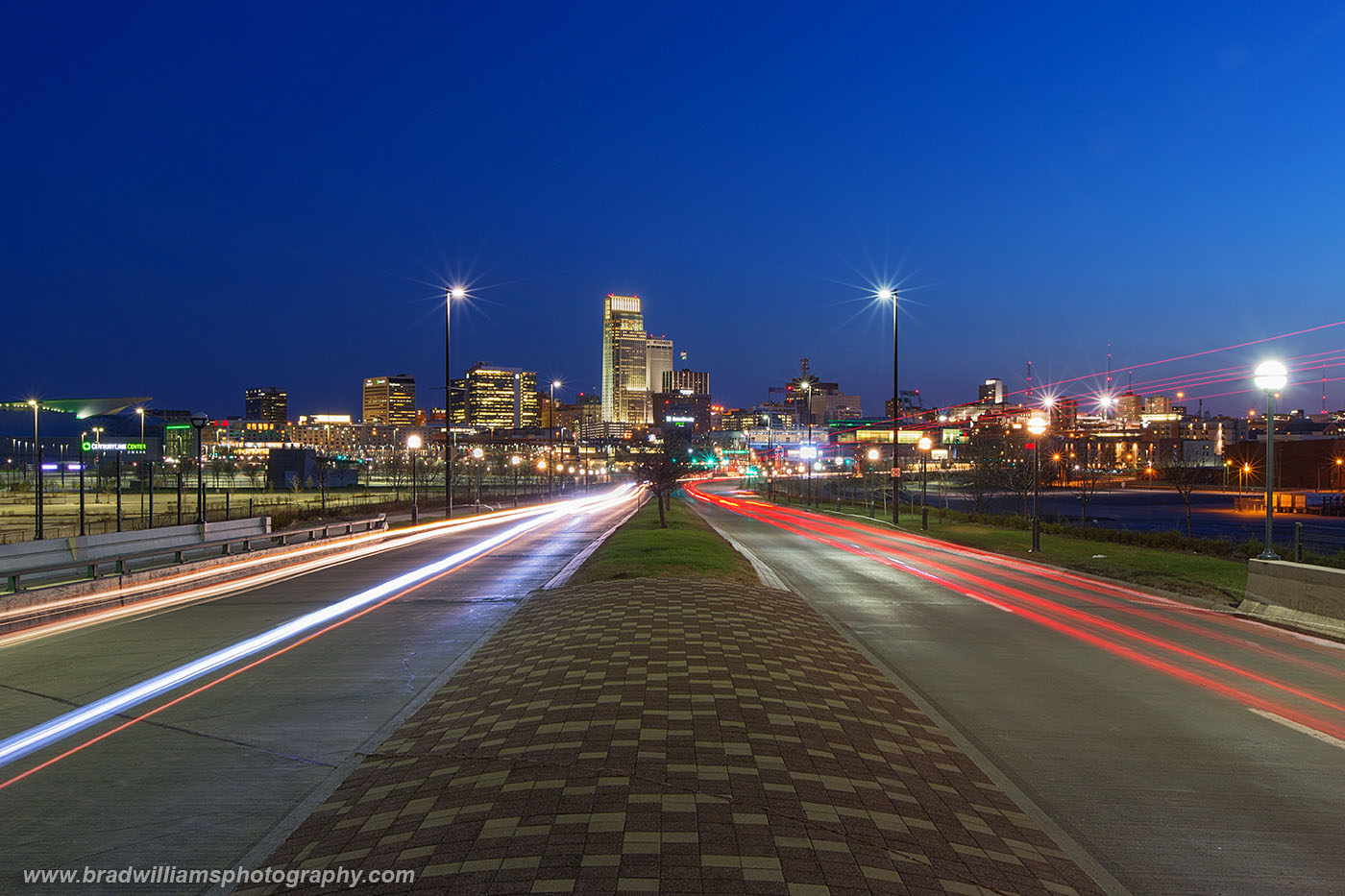 ​Abbot Drive, Downtown, Omaha, Nebraska​, Omaha Skyline, photo