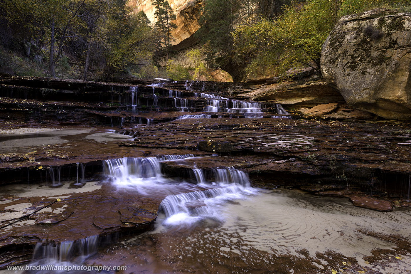 Archangel Falls, Zion National Park, Utah, photo