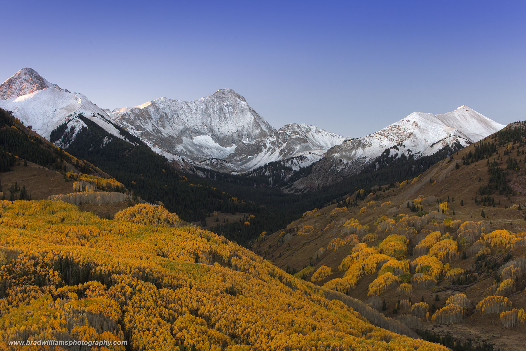 Elk Mountains, Capitol Peak, colorado, fall, aspen, photo