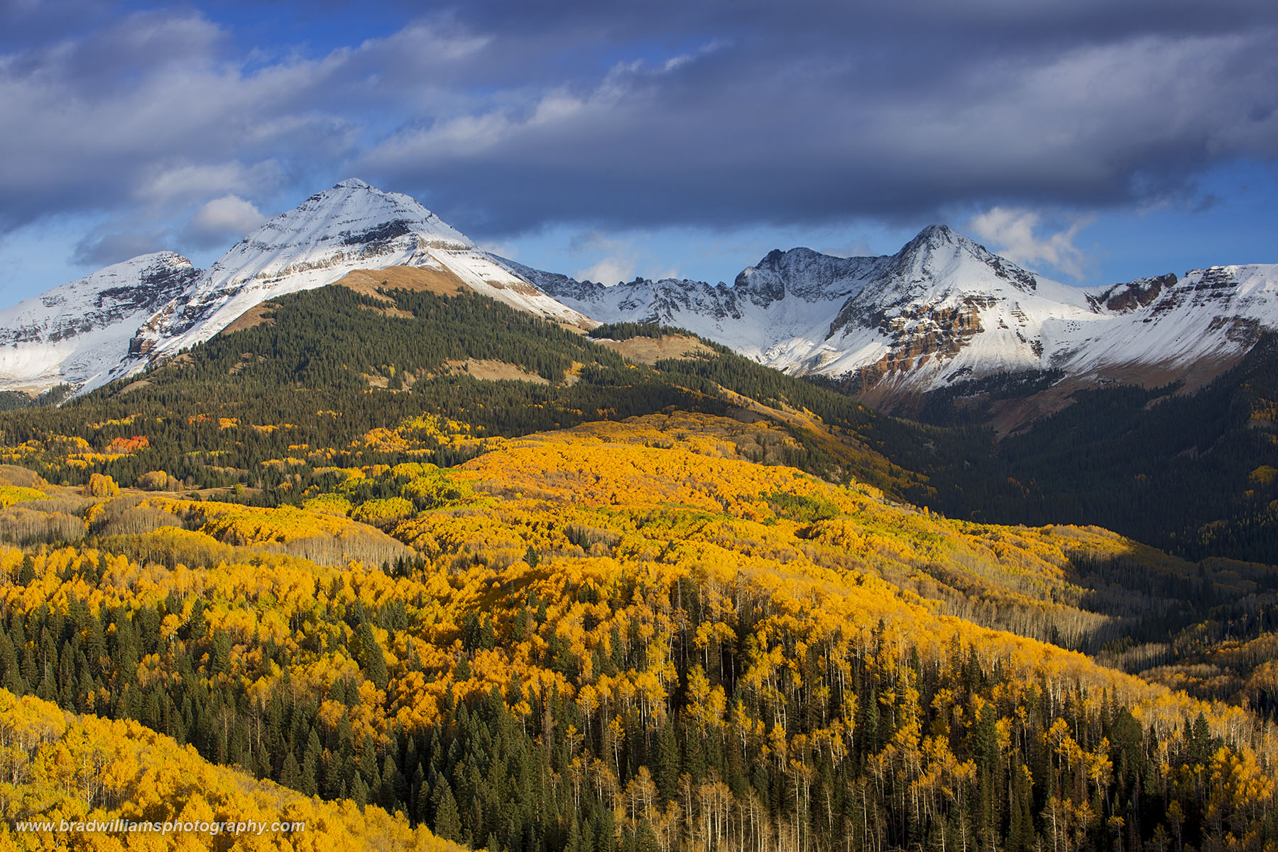 San Juan National Forest, Colorado, La Plata Mountains, fall,, photo