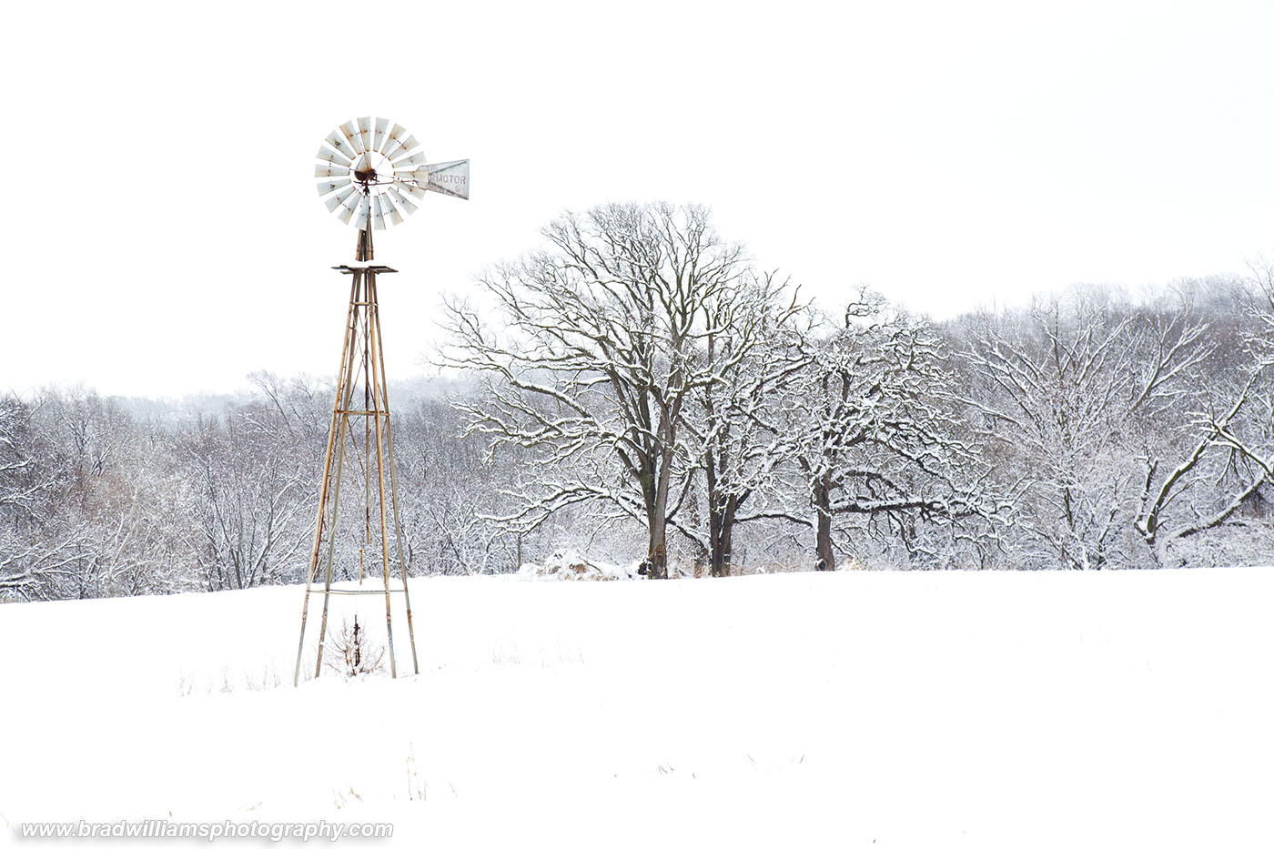 Fort Calhoun, Nebraska, Christmas, Snow, photo