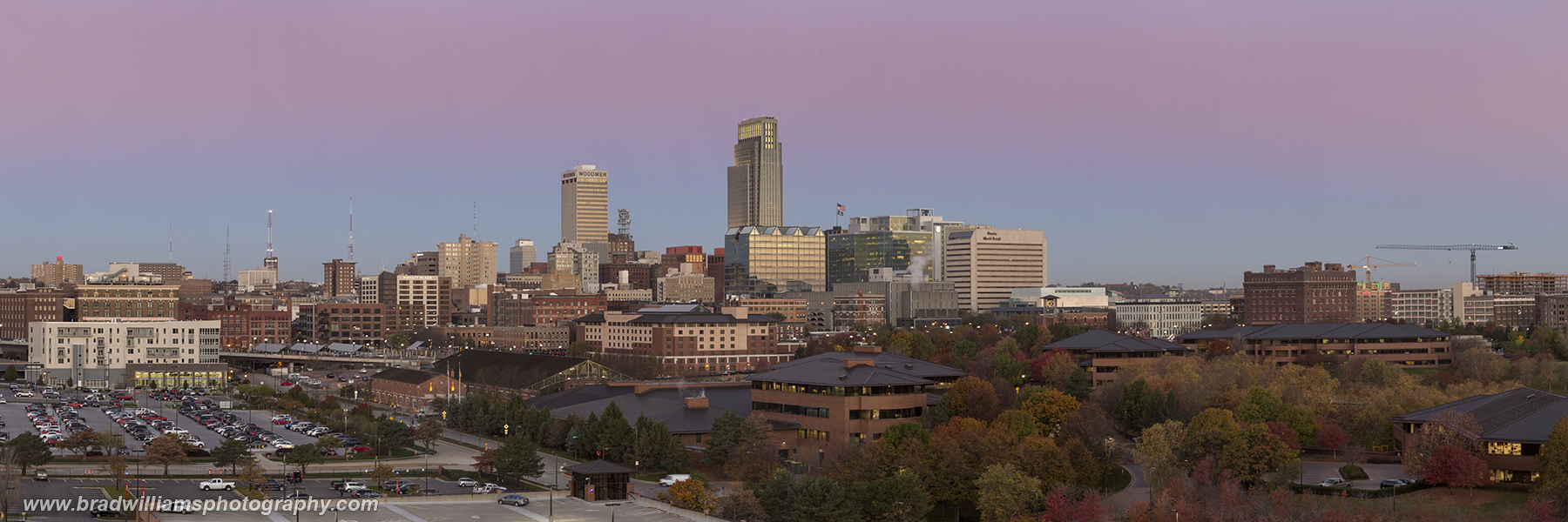 Omaha, Nebraska, Skyline, Fall, photo