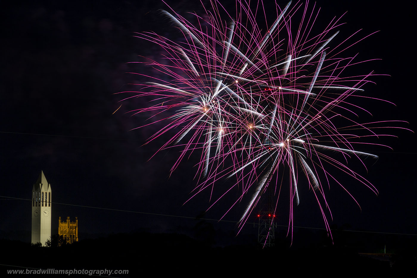 Memorial Park, Fireworks, Omaha, Nebraska, photo