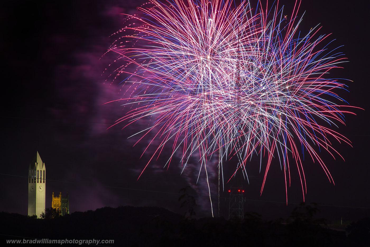 Memorial Park, Fireworks, Omaha, Nebraska, photo