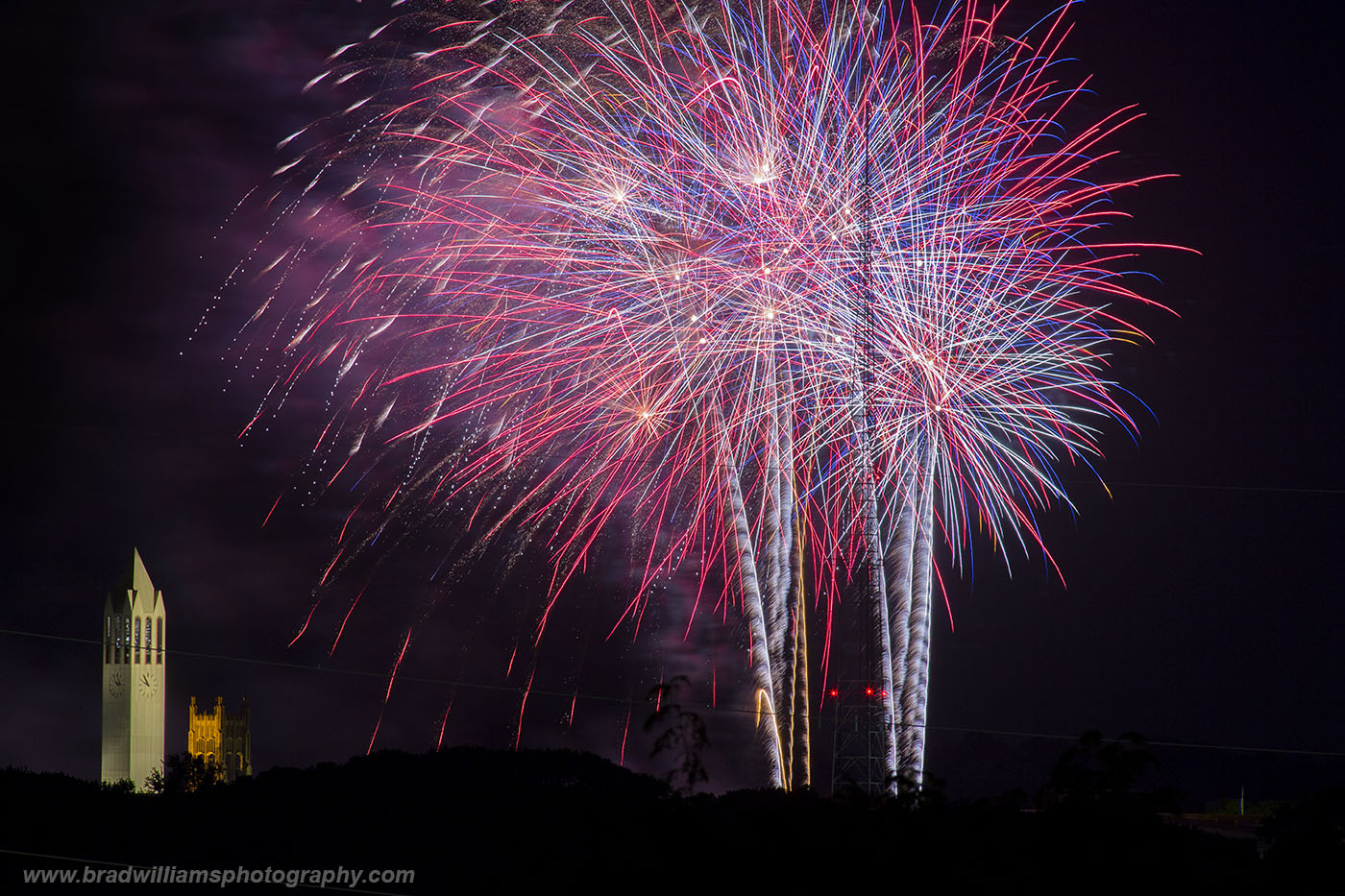 Memorial Park, Fireworks, Omaha, Nebraska	, photo