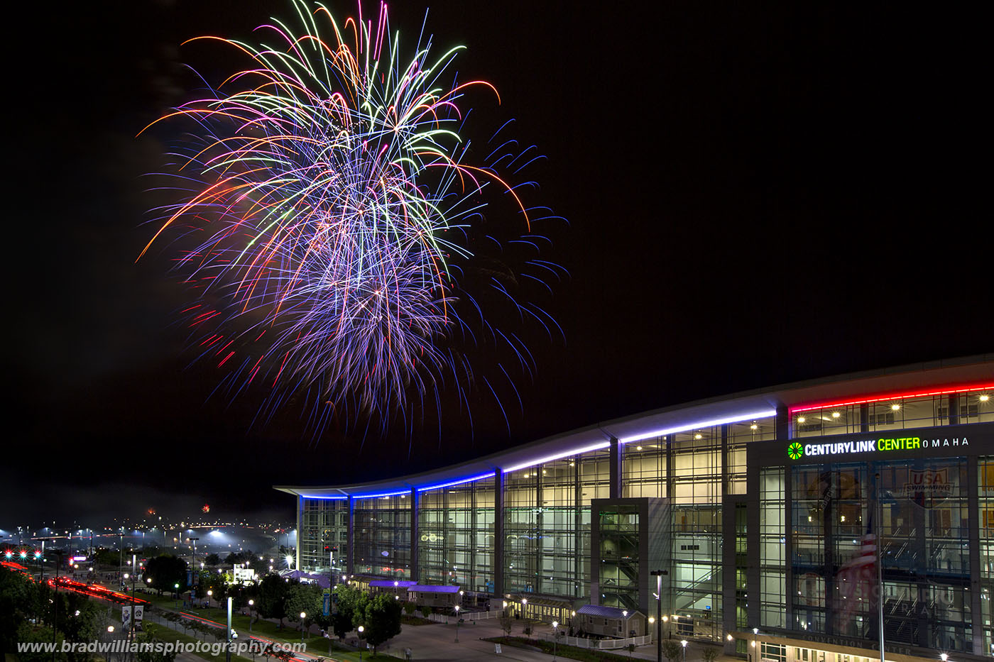 TD Ameritrade Park, Fireworks, Nebraska