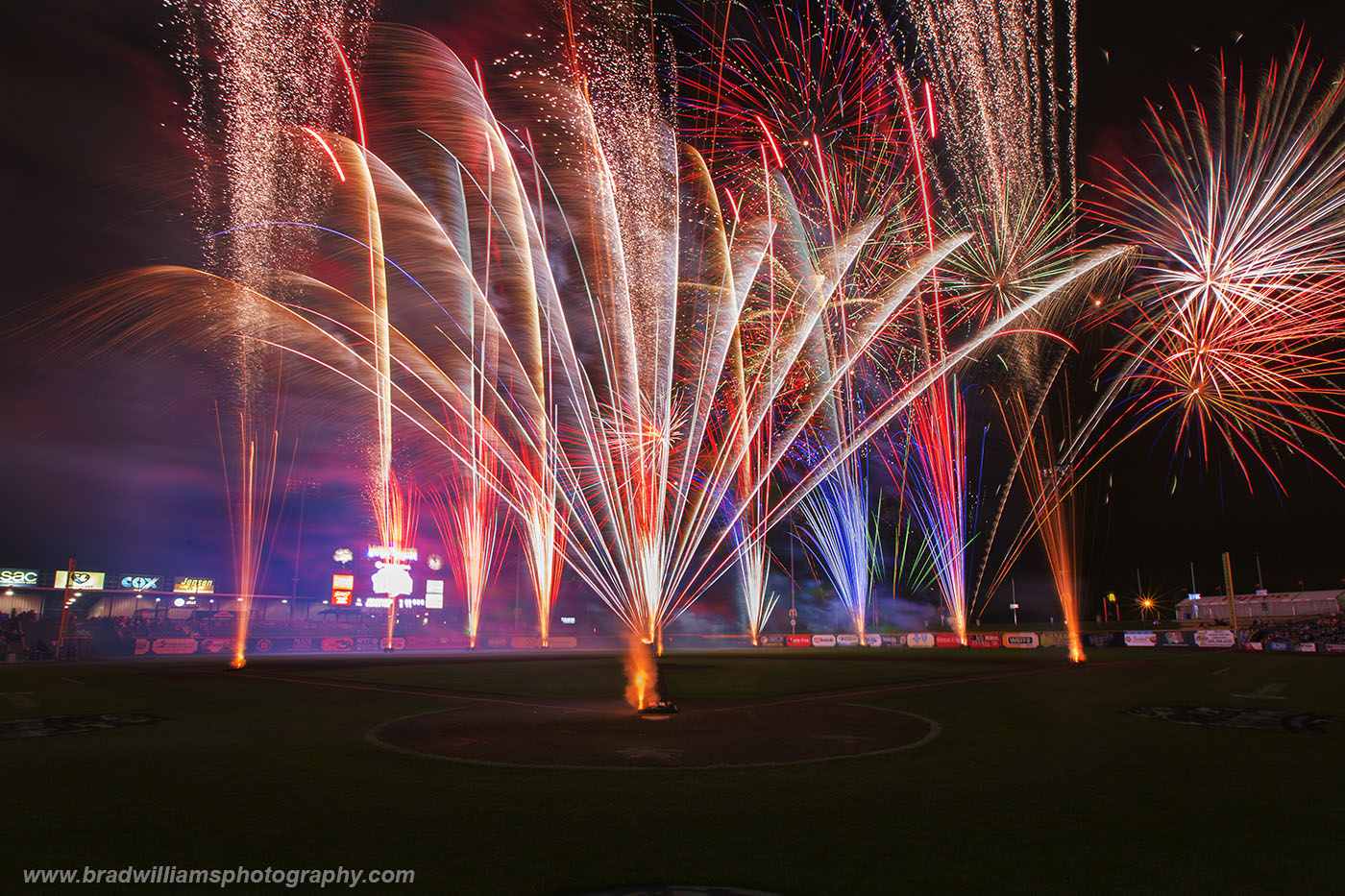 fireworks, werner park, papillion, omaha, nebraksa , photo