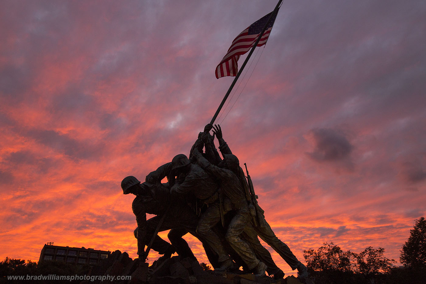 United States, Marine Corps, War Memorial, Washington, DC, , photo