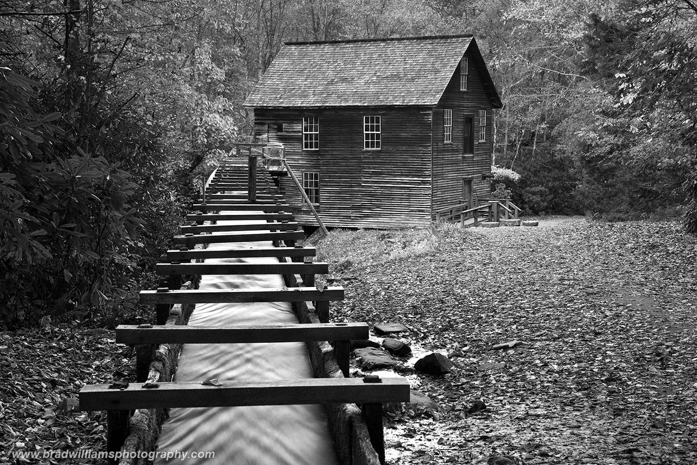Mingus Mill, North Carolina, Grist Maill, Great Smokey Mountains, National Park, photo