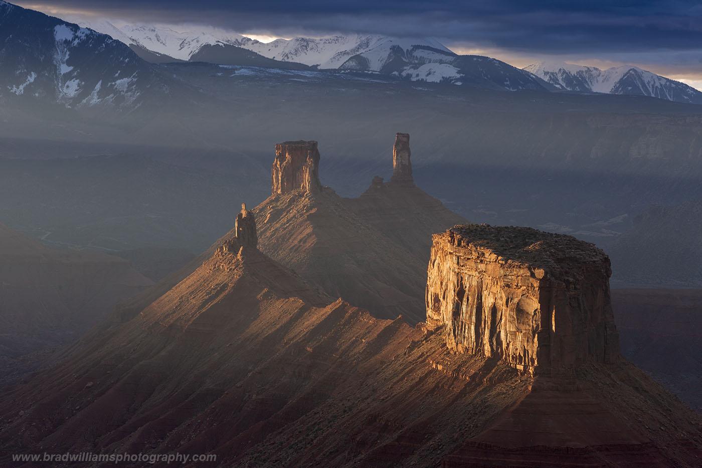Moad, Utah, Red Rock, La Sal Mountains, , photo