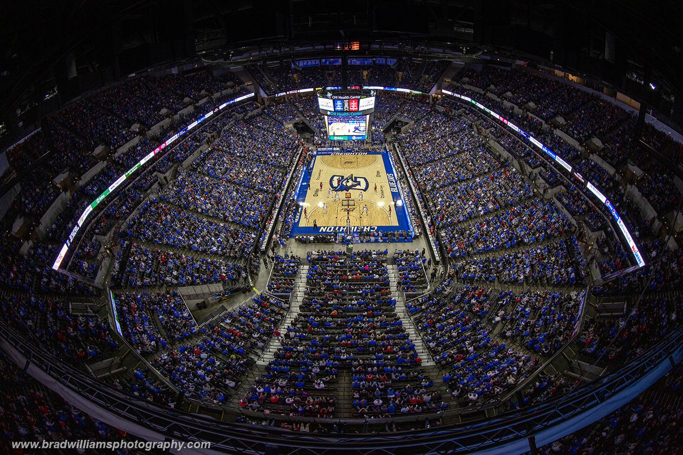 Creighton, University, Basketball, CenturyLink Center,  CHI Health Center, Omaha, Nebraska, photo