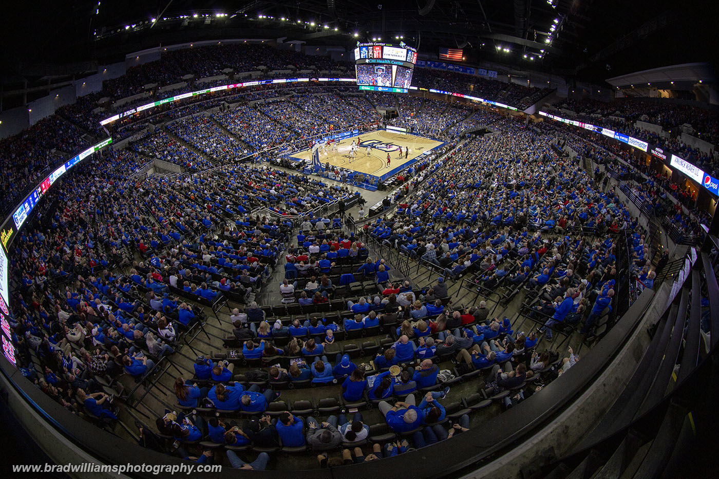 Creighton, University, Basketball, CenturyLink Center,  CHI Health Center, Omaha, Nebraska, photo