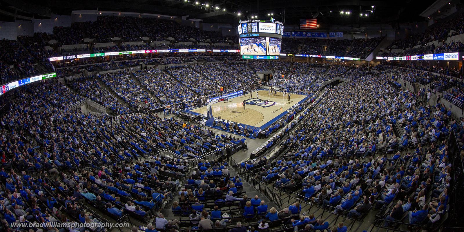 Creighton VS Georgetown 3/4/2020, Attendance = 17,696