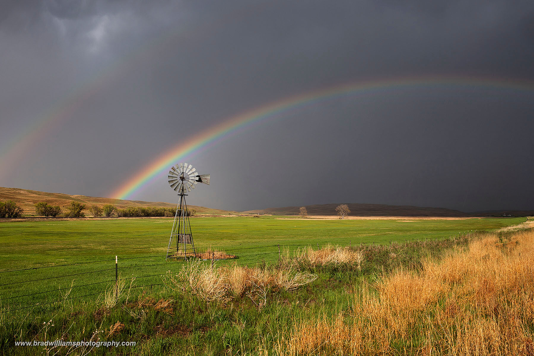 After driving through a storm in the Nebraska Sandhills, I emerged out in to the sunlight and saw this beautiful scene!  This...