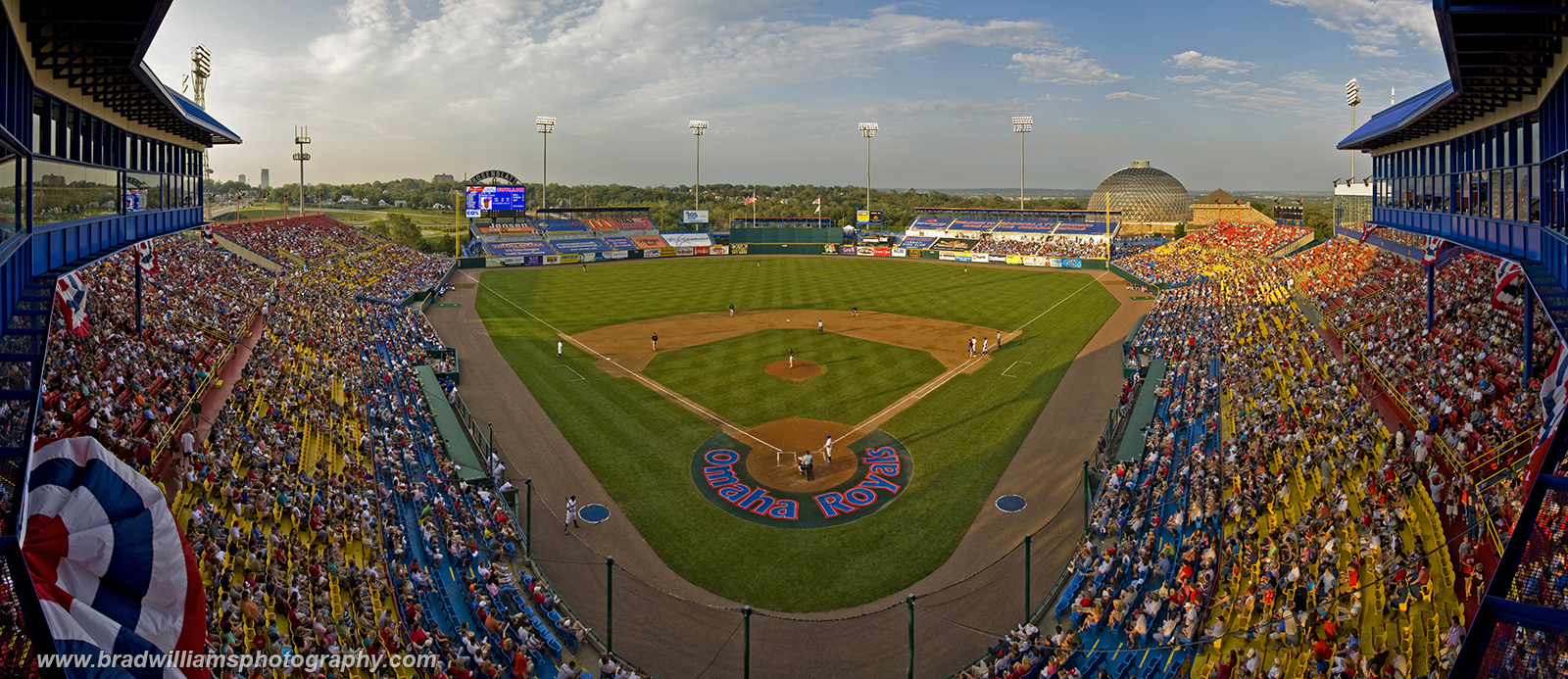 Rosenblatt Stadium, Omaha, Nebraska, photo